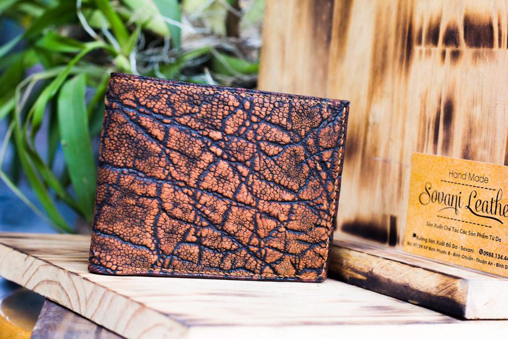 Ví da voi handmade, Elephant Leather 17