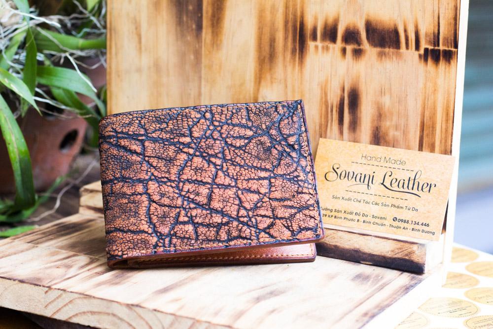 Ví da voi handmade, Elephant Leather 18