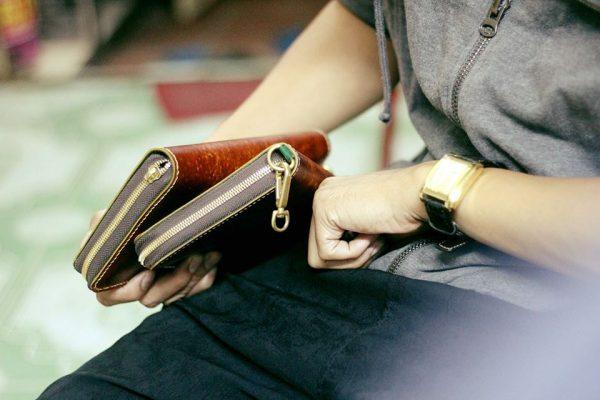 Clutch Nam cao cấp Handmade da Veg 3