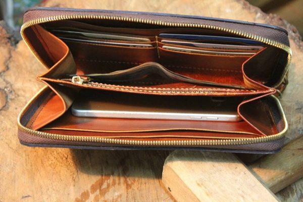 Clutch Nam cao cấp Handmade da Veg 11