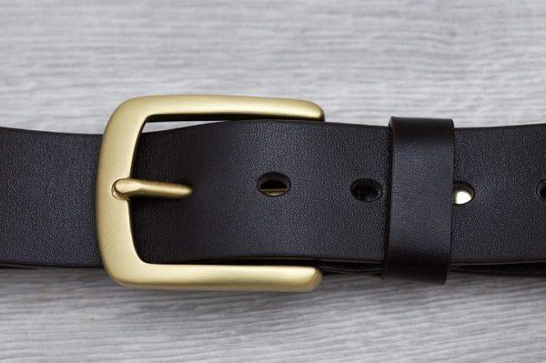 Dây lưng Handmade da bò 1 lớp 7