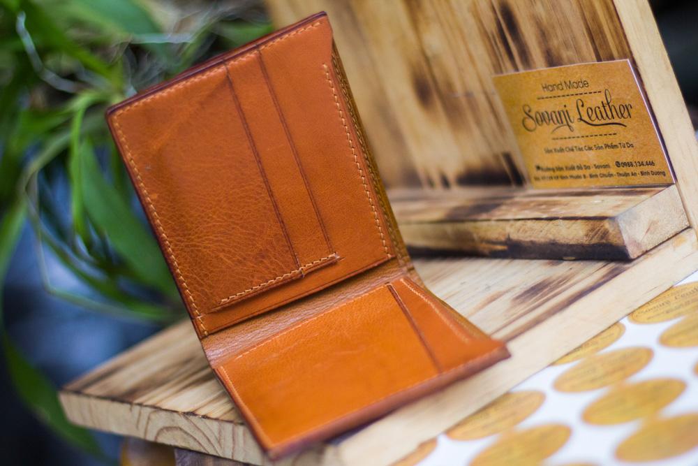 Ví da voi handmade, Elephant Leather 20