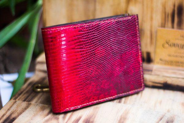 Ví da kỳ đà handmade, Iguana Leather 3