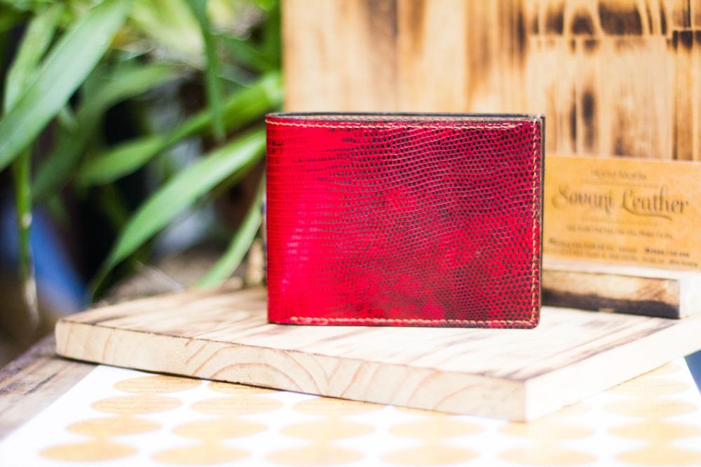 Ví da kỳ đà handmade, Iguana Leather 20