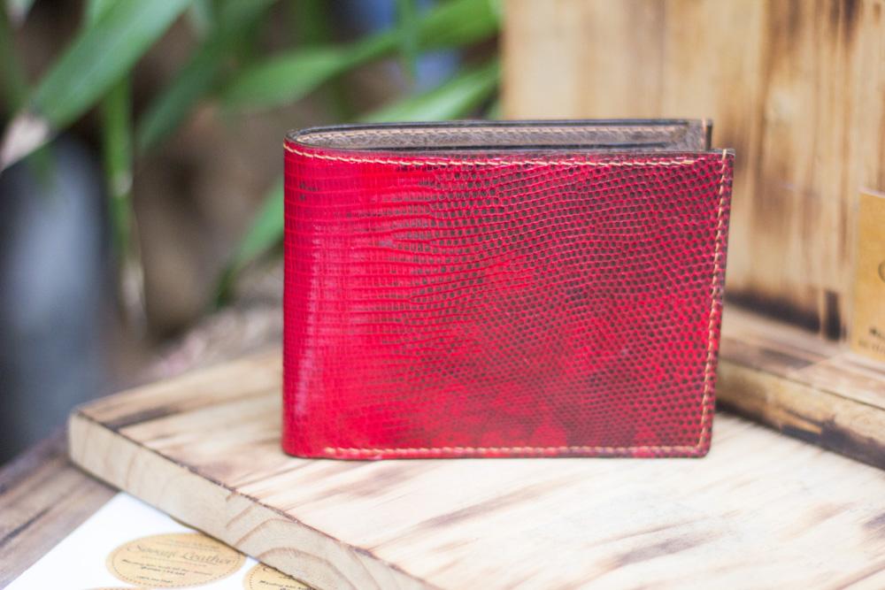 Ví da kỳ đà handmade, Iguana Leather 21