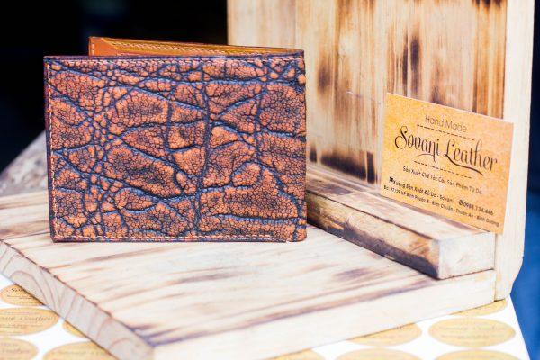Ví da voi handmade, Elephant Leather 9