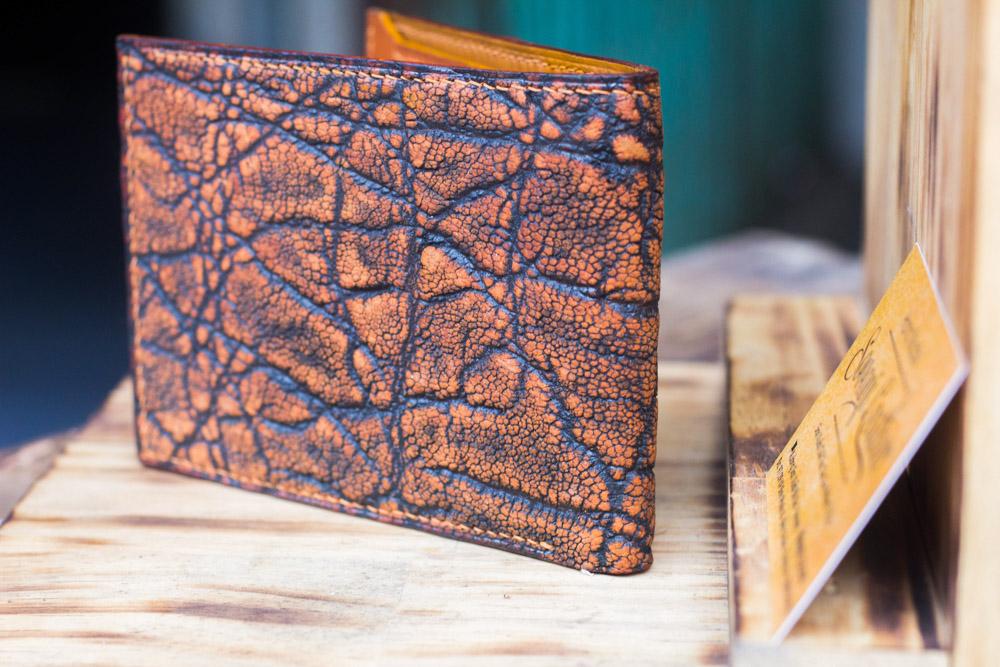 Ví da voi handmade, Elephant Leather 23