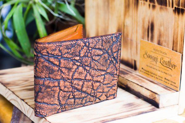 Ví da voi handmade, Elephant Leather 3