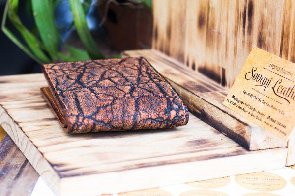 Ví da voi handmade, Elephant Leather 6