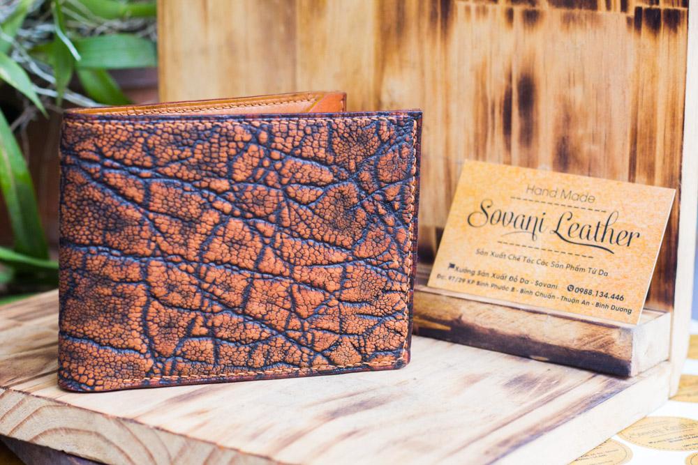 Ví da voi handmade, Elephant Leather 29