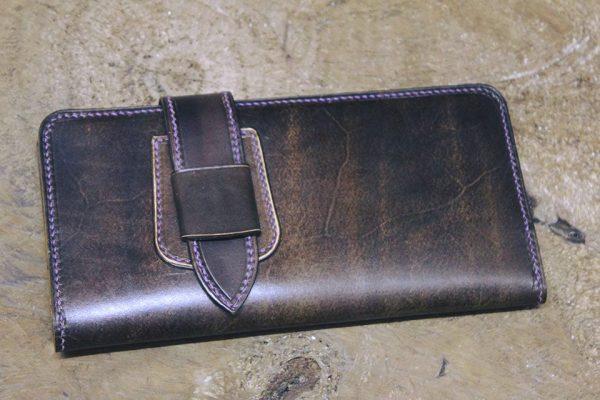 Ví nữ dáng dài - Handmade với chất liệu da bò thật 100% 15
