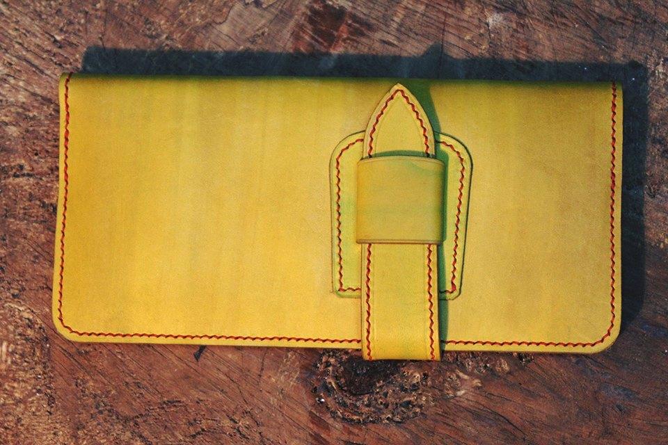 Ví nữ dáng dài - Handmade với chất liệu da bò thật 100% 67