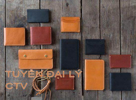 Tuyển đại lý - CTV - Kinh doanh sản phẩm Đồ da - Đồ da Handmade 4