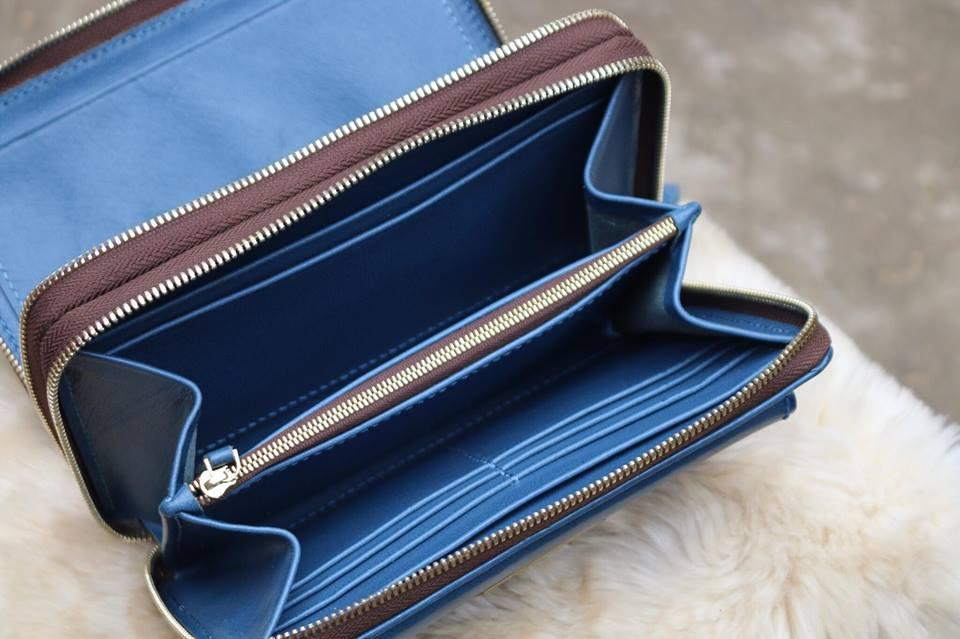 Zip đôi Handmade thiết kế độc đáo - Xanh dương 12