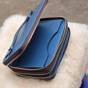 Zip đôi Handmade thiết kế độc đáo - Xanh dương 10