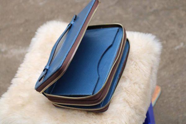 Zip đôi Handmade thiết kế độc đáo - Xanh dương 5