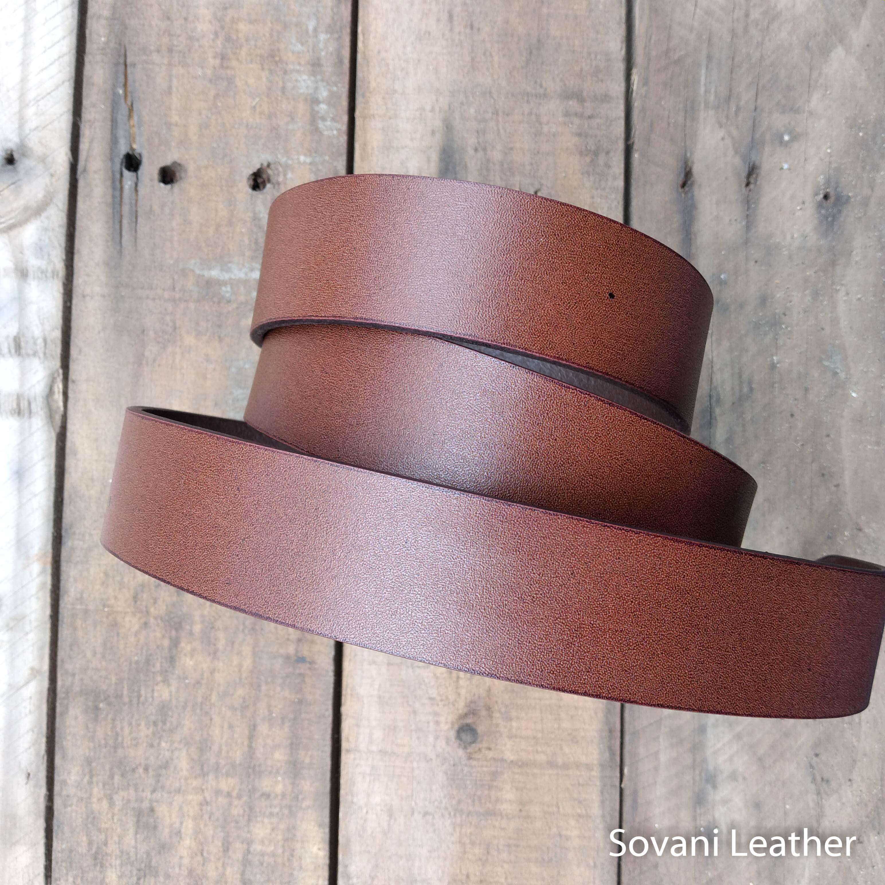 Thắt lưng nam da bò, Màu nâu, Pullup leather 15