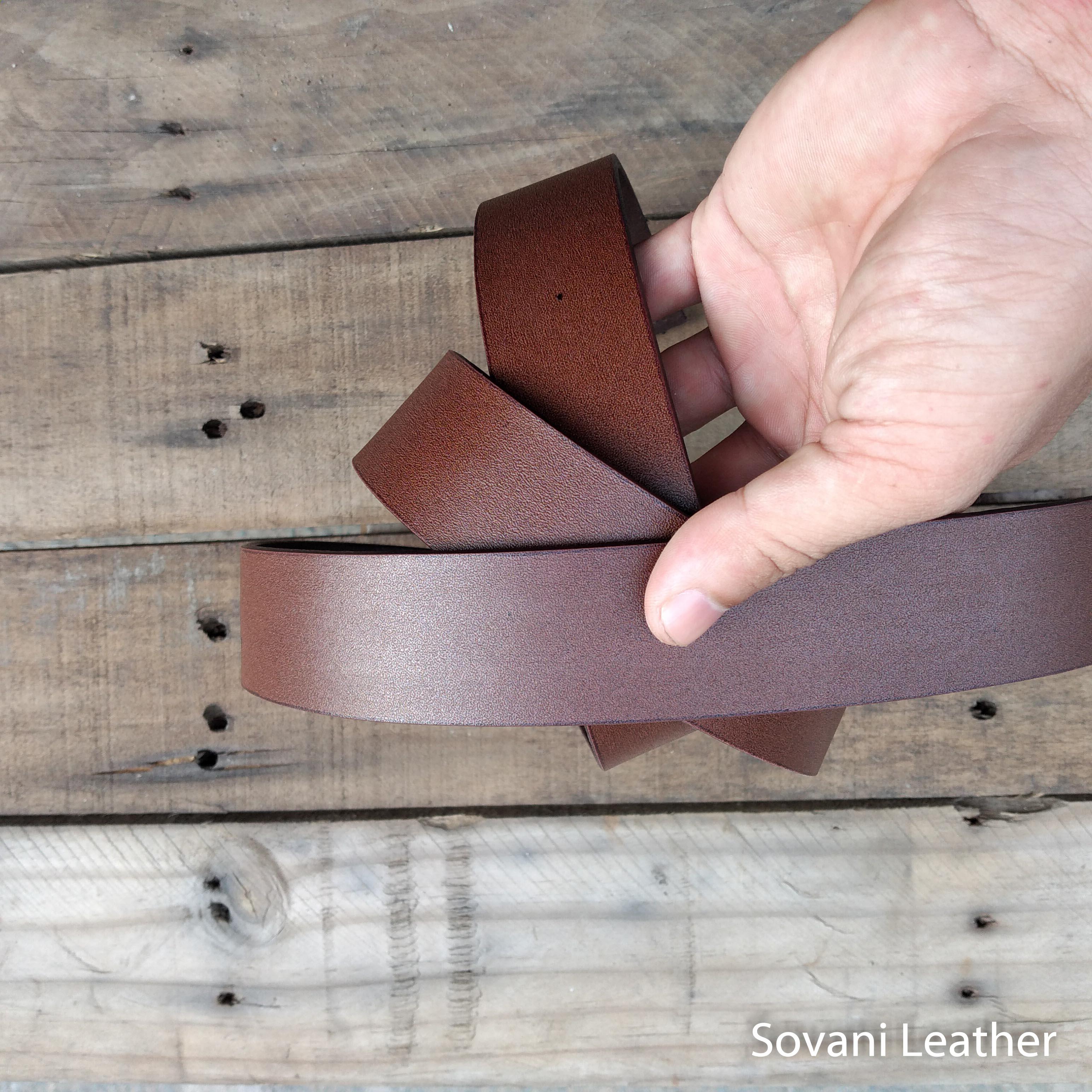 Thắt lưng nam da bò, Màu nâu, Pullup leather 19