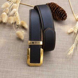 Thắt lưng handmade da bò Mill Italy 10