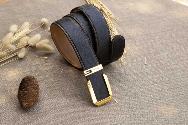 Thắt lưng handmade da bò Mill Italy 3