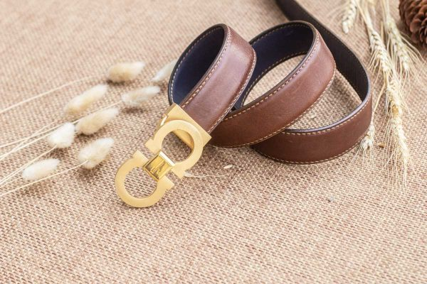 Thắt lưng nam handmade, vachetta ognac 3