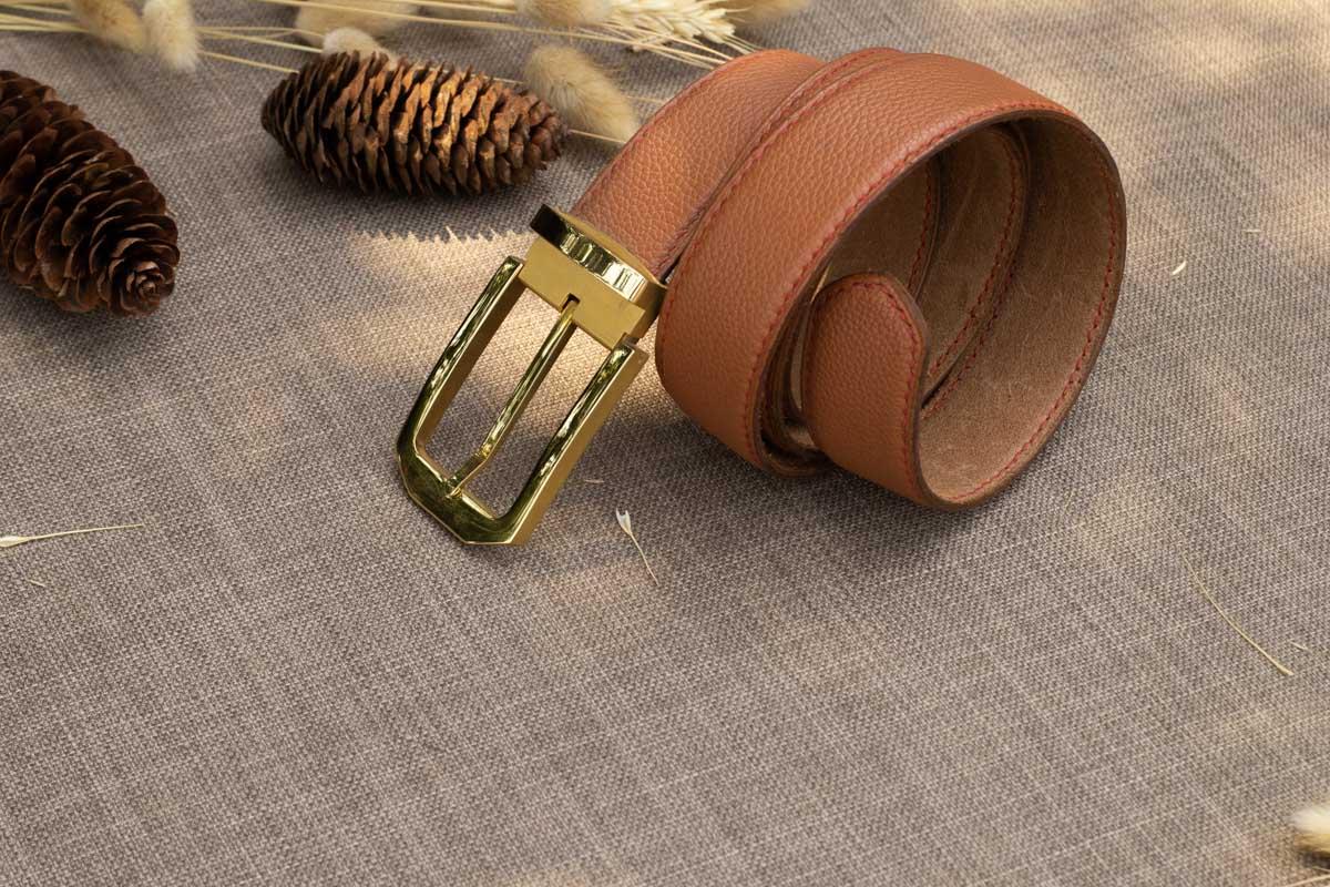 Thắt lưng nam handmade, da bò mill 16