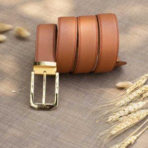 Thắt lưng nam handmade, da bò mill 11