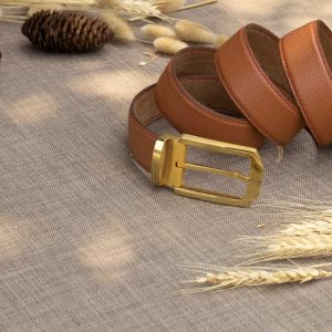Thắt lưng nam handmade, da bò mill 10