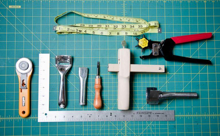 Hướng dẫn cách làm thắt lưng - dây nịt da 2