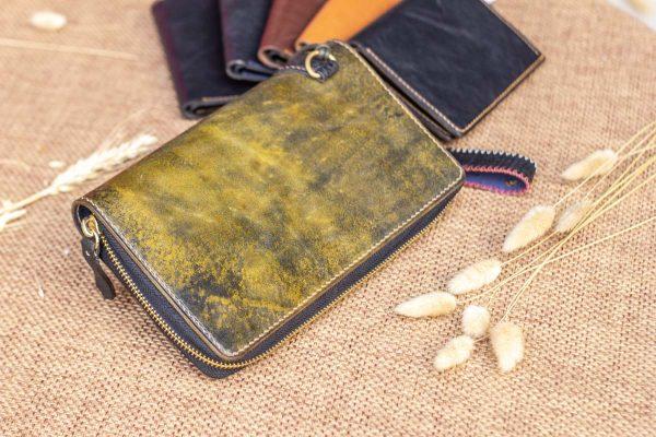 Cluth nam nữ handmade vàng rêu 3