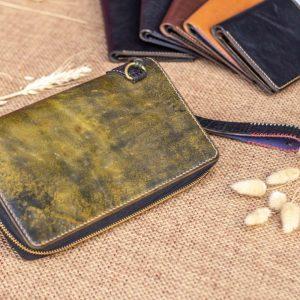 Cluth nam nữ handmade vàng rêu 13