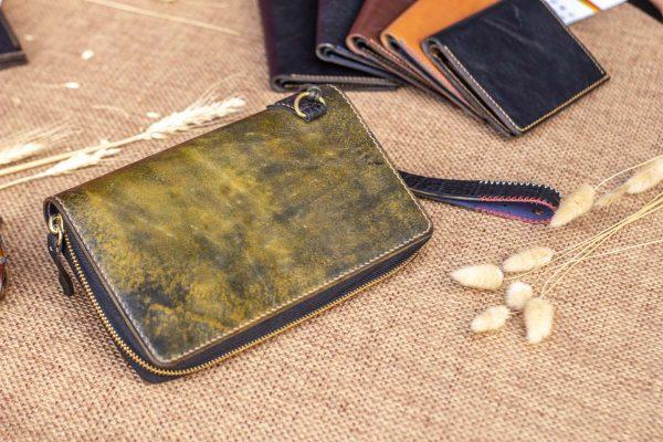 Cluth nam nữ handmade vàng rêu 8