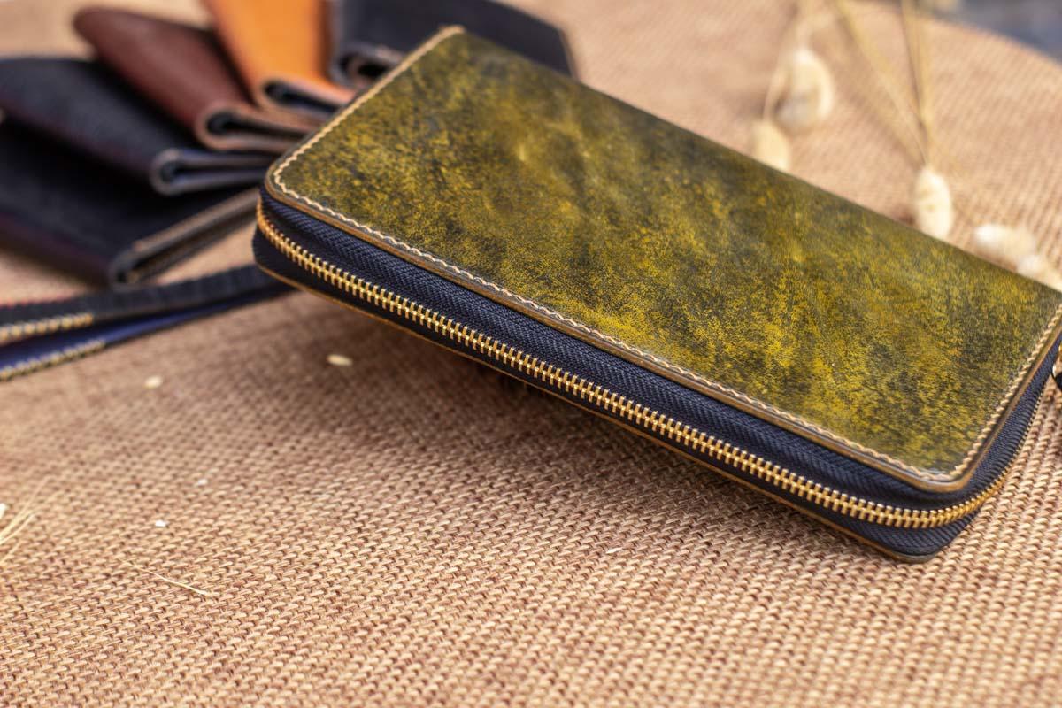 Cluth nam nữ handmade vàng rêu 15