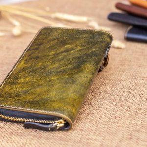 Cluth nam nữ handmade vàng rêu 10