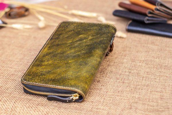 Cluth nam nữ handmade vàng rêu 5