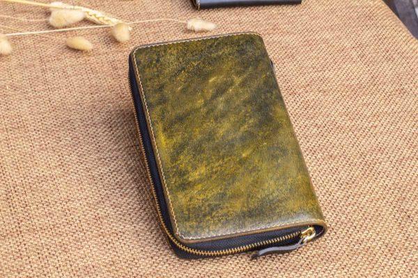 Cluth nam nữ handmade vàng rêu 4