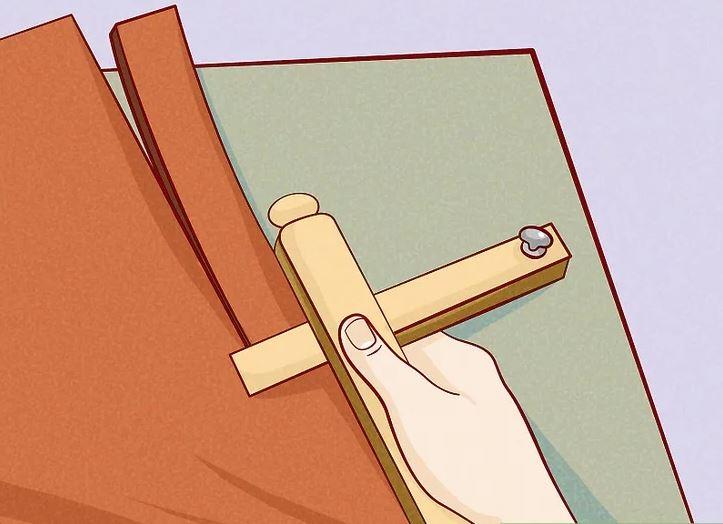 Hướng dẫn Cách làm Thắt lưng handmade 3