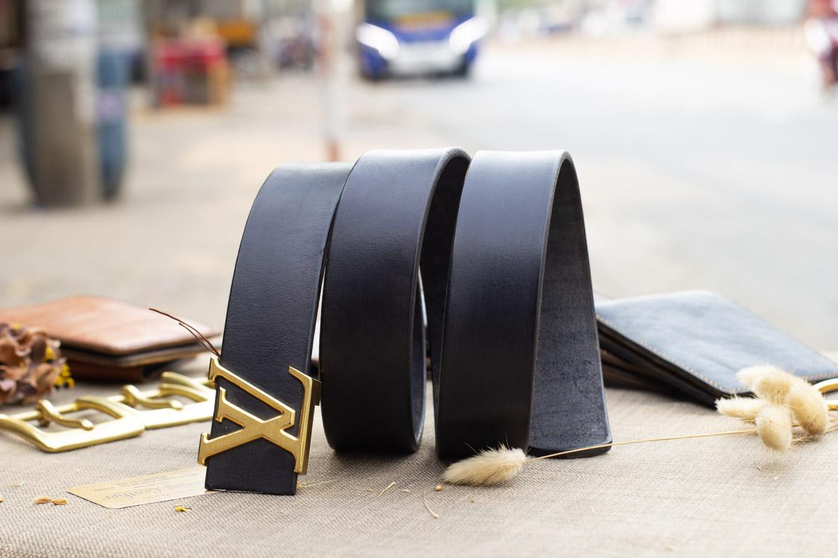 Thắt lưng nam handmade cao cấp, Veg Italy 18