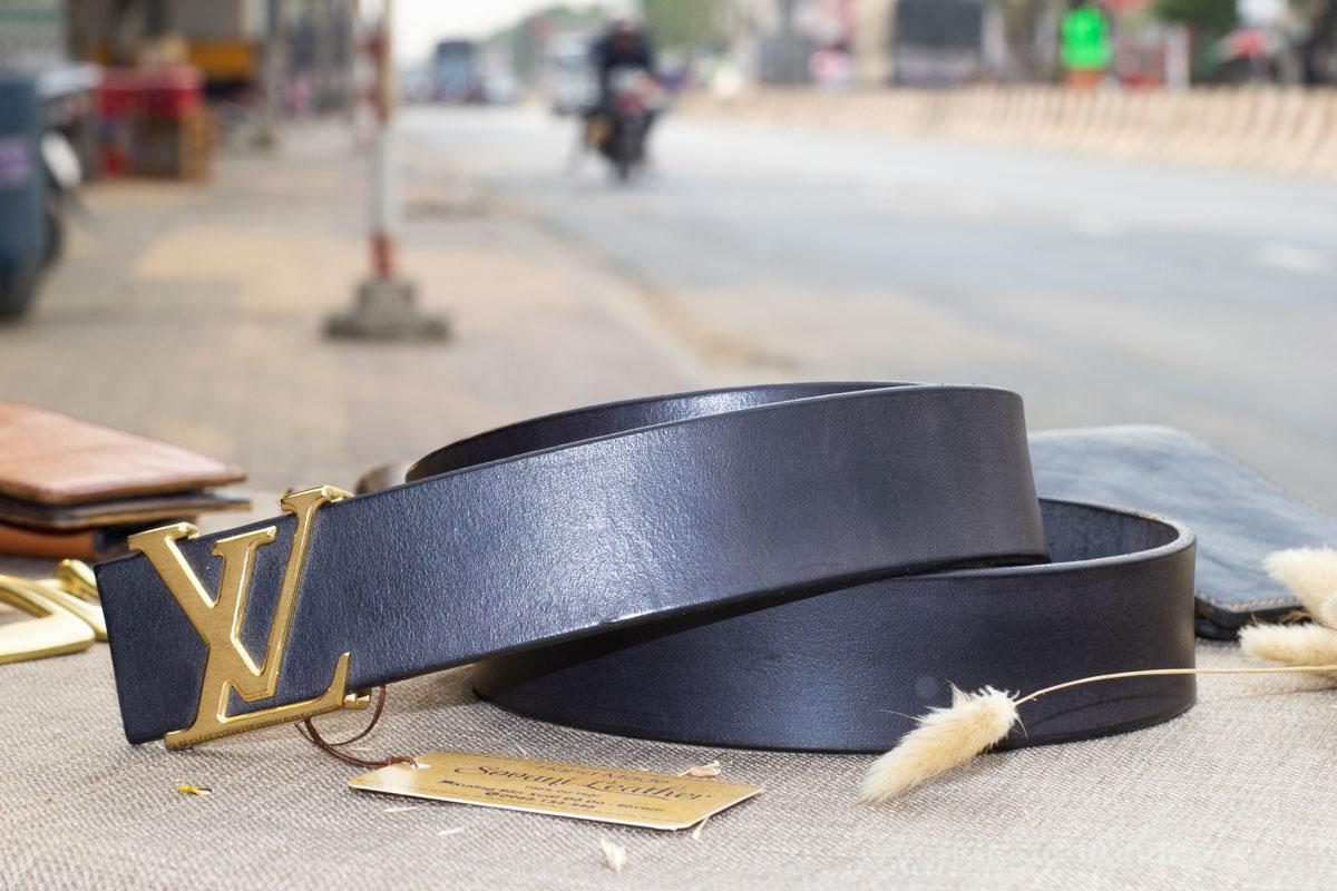 Thắt lưng nam handmade cao cấp, Veg Italy 22