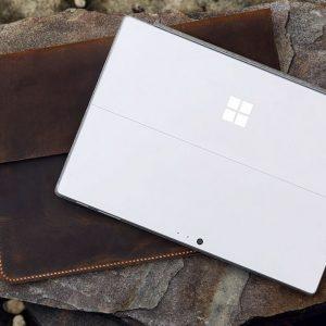 Túi da handmade đựng Macbook, Laptop Surface 13