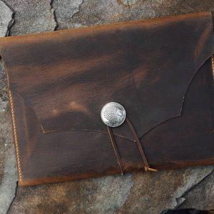 Túi da handmade đựng Macbook, Laptop Surface 10
