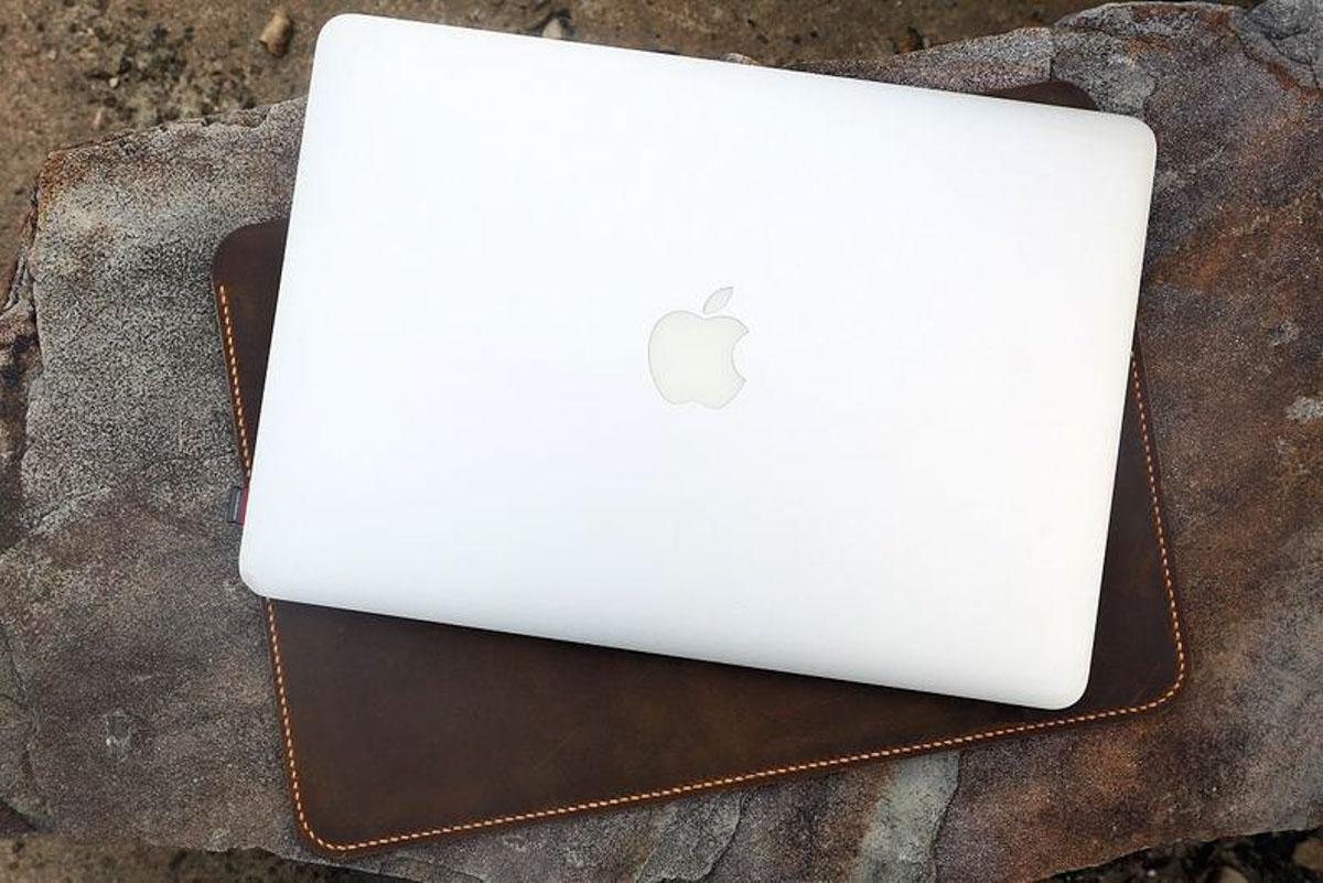 Bao da đựng Macbook handmade 15