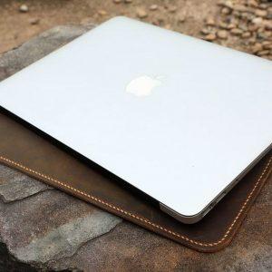 Bao da đựng Macbook handmade 13