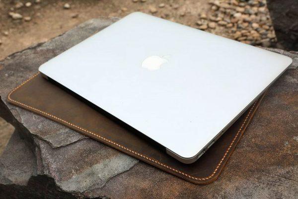 Bao da đựng Macbook handmade 8