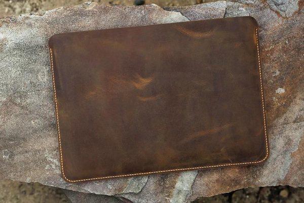 Bao da đựng Macbook handmade 7