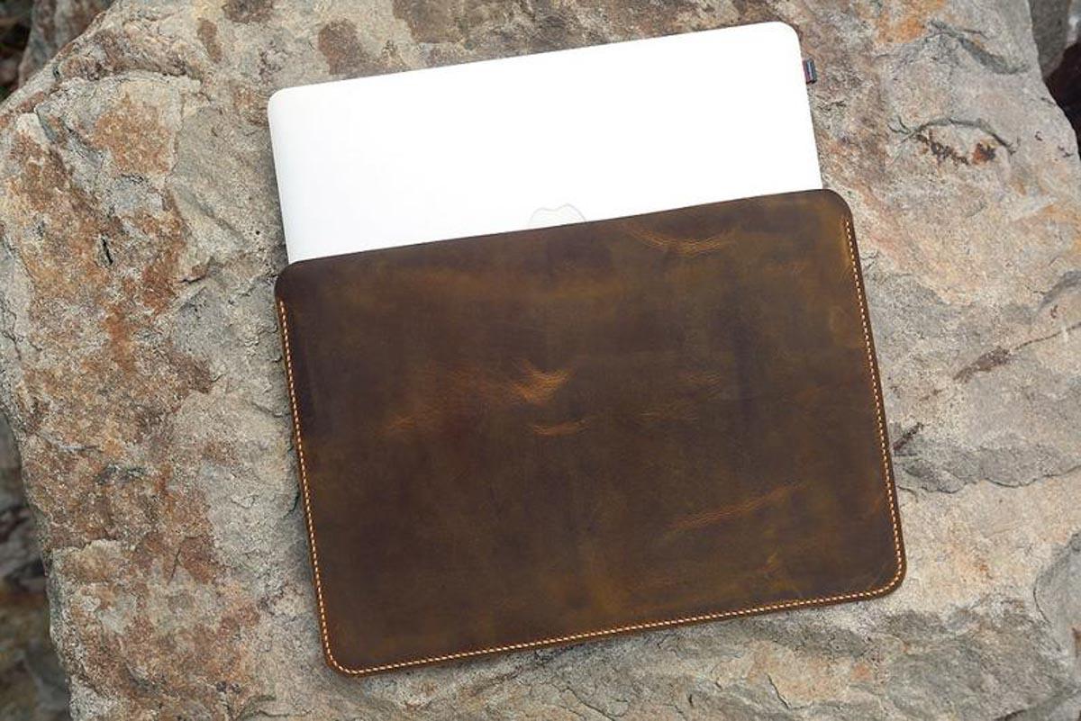 Bao da đựng Macbook handmade 18