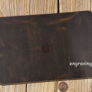 Bao da đựng Macbook handmade 10
