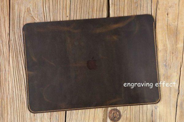 Bao da đựng Macbook handmade 5