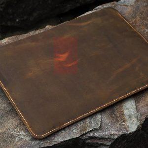 Bao da đựng Macbook handmade 9