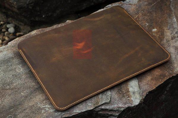 Bao da đựng Macbook handmade 4